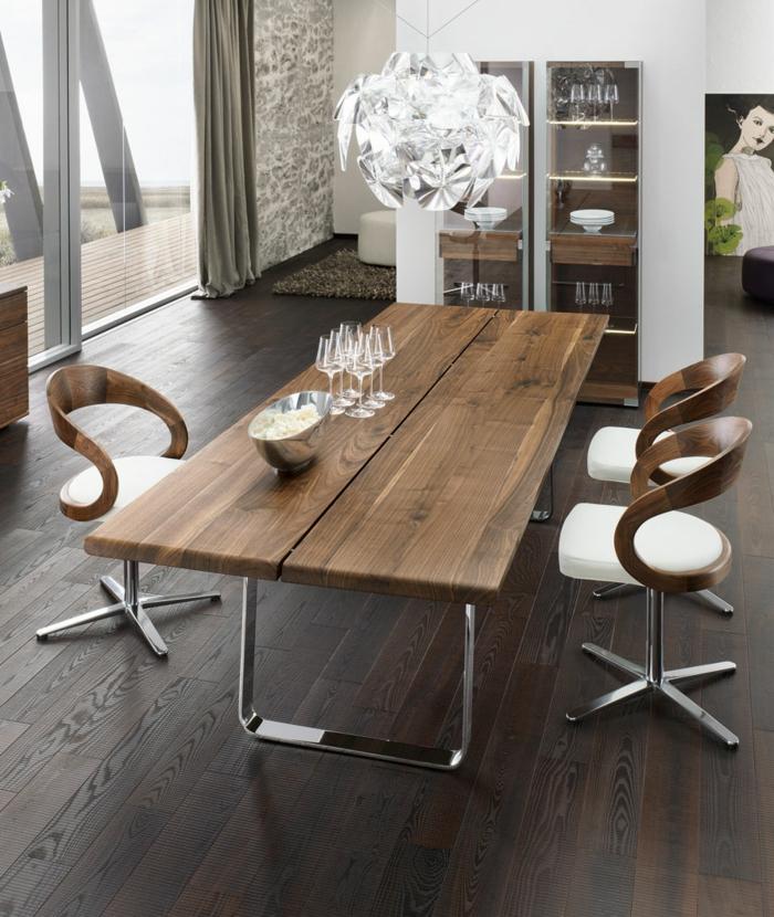 Passendes Esstisch Design für das Speisezimmer nach Form