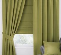 Frische Fensterdekoration ist gefragt: inspirierende Gardinen Ideen