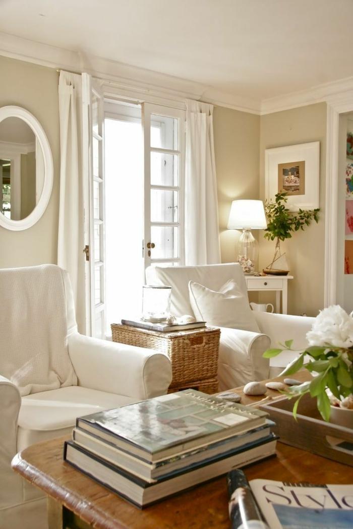 Französische Landhausmöbel verleihen jedem Ambiente Charme und Romantik