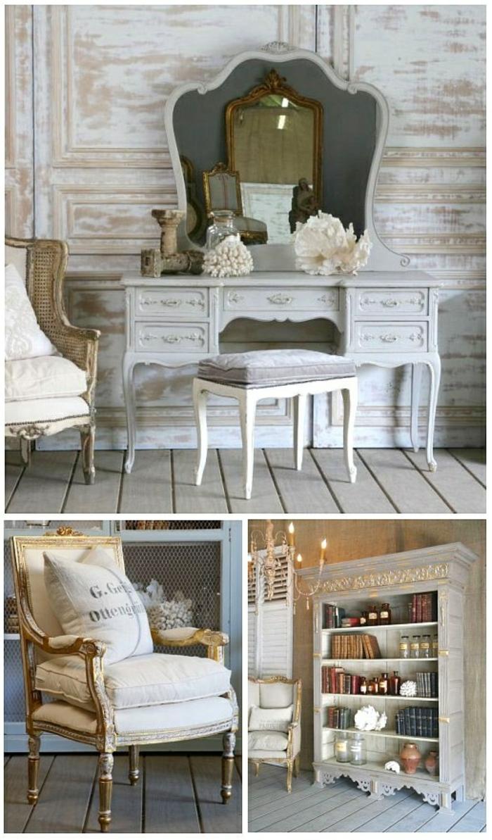 Uberlegen Französische Landhausmöbel Schicke Rustikale Einrichtungsideen