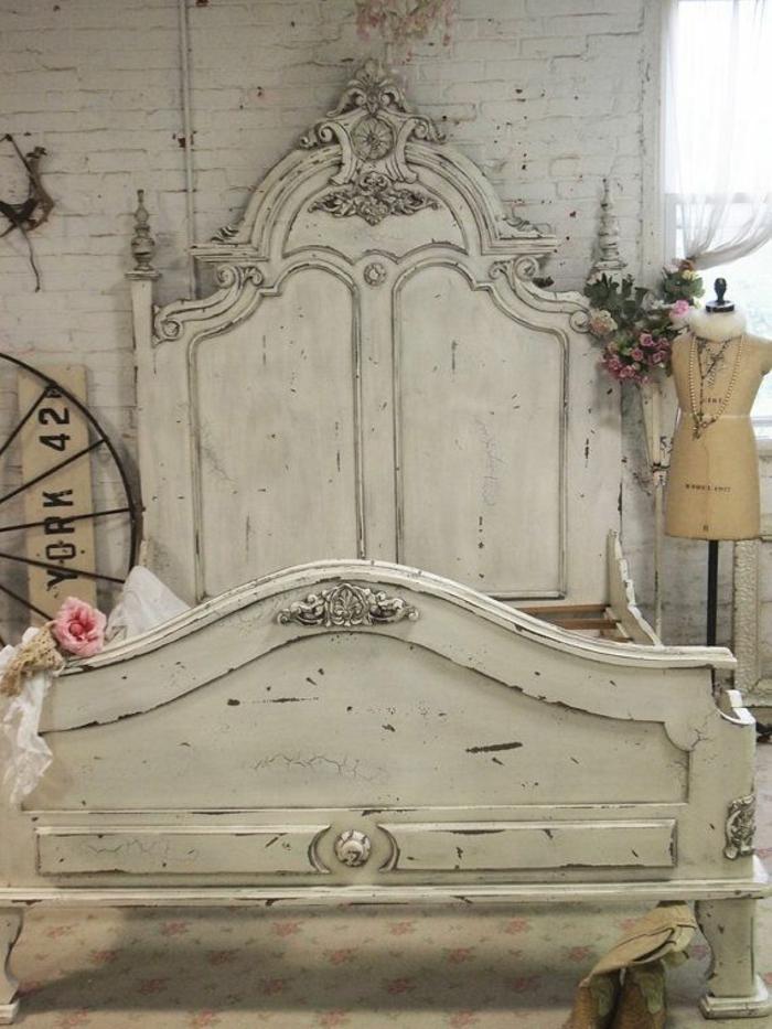 Französische Landhausmöbel Schlafzimmer Bett Möbel Landhausstil