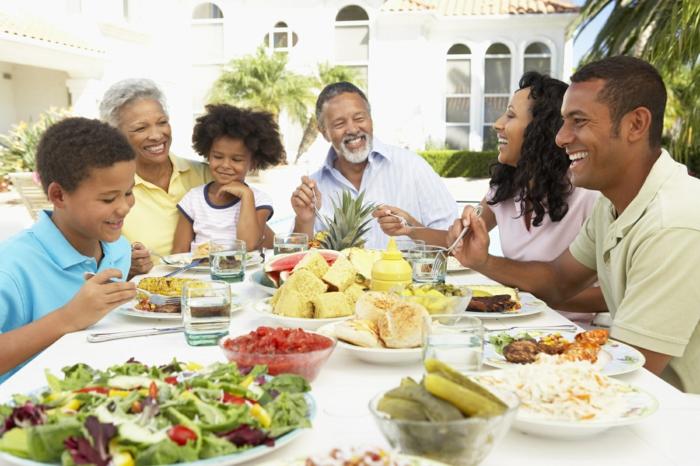 günstig lebensmittel einkaufen zusammen essen große familie