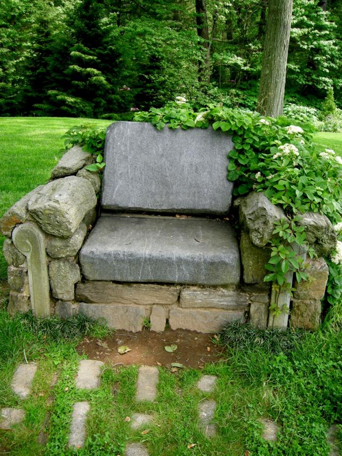 Garten Verschönern Mit Steinen dekosteine garten lassen den garten natürlicher vorkommen