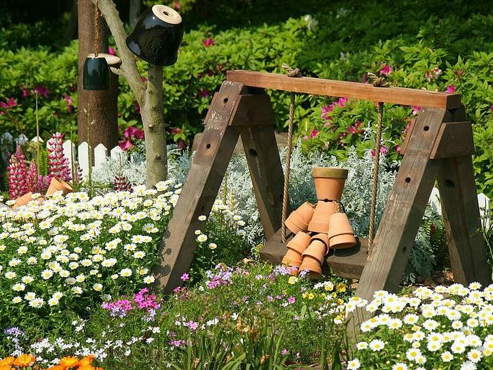 Gartendekorationen ideen die f r eine heitere stimmung im for Decorer son jardin