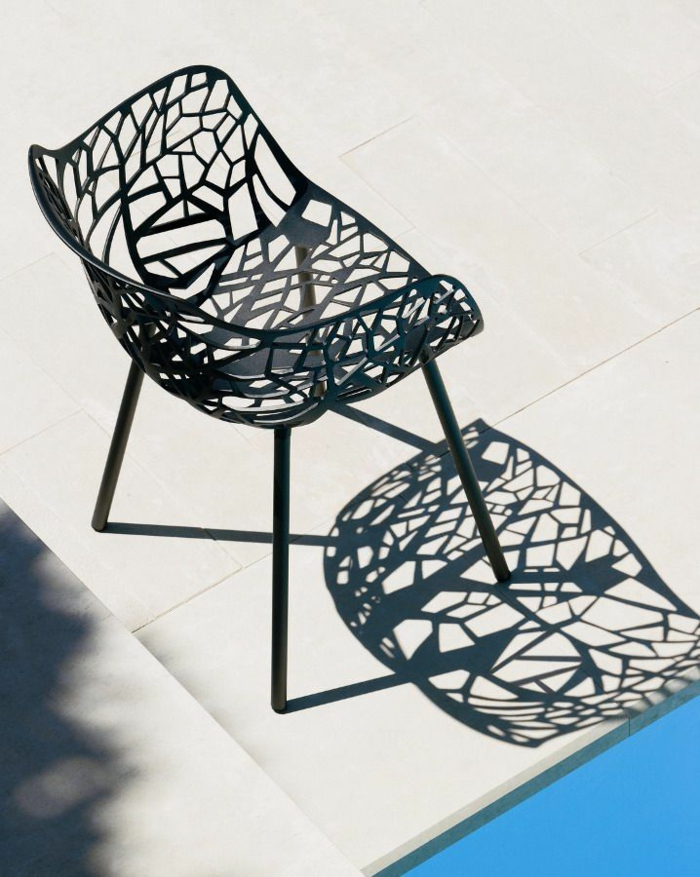 gartenmöbel set alu designer stuhl am pool resized