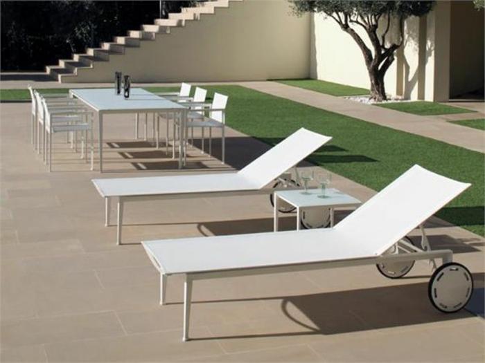 gartenmöbel set alu tisch mit stühlen und liegen weiß resized