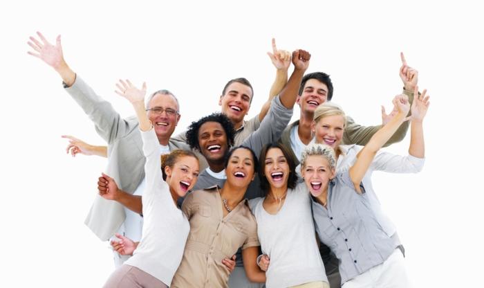 glückliches leben glückliche menschen lifestyle