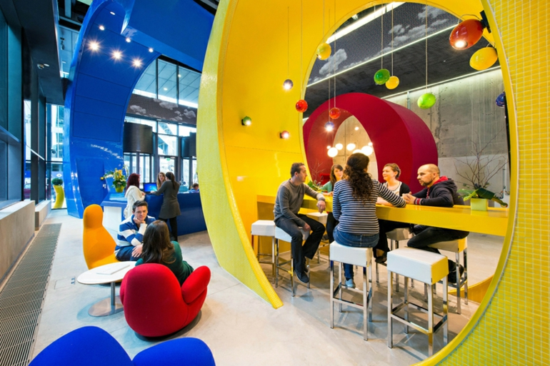 google campus dublin büroeinrichtung stress am arbeitsplatz