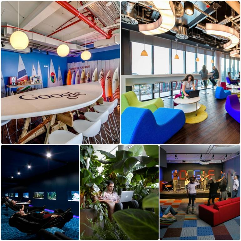 google moderne büroeinrichtung stress am arbeitsplatz
