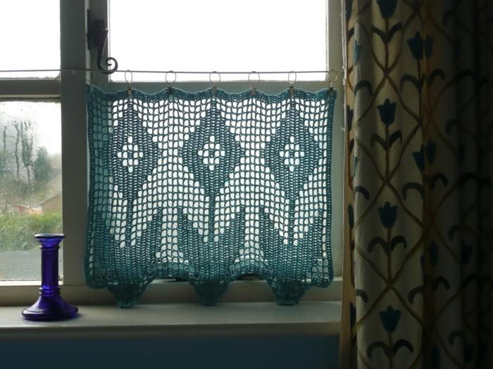 Küchenfenster dekorieren  Die Häkelgardinen - Gardinen mit Charme fürs Zuhause auswählen