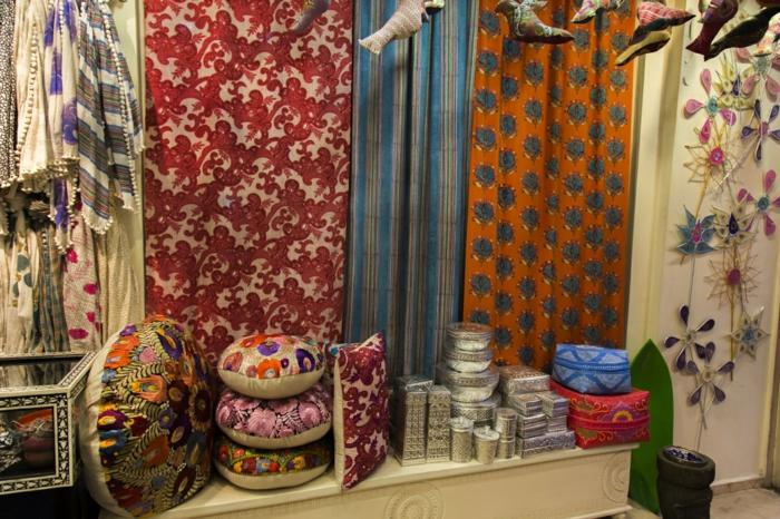 hauseinrichtung marokkanische textilien decken erdfarben neutral