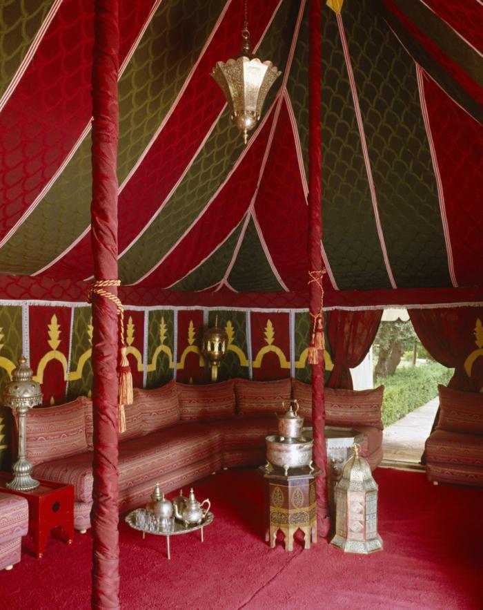 hauseinrichtung marokkanisches zelt orientalisches interieur