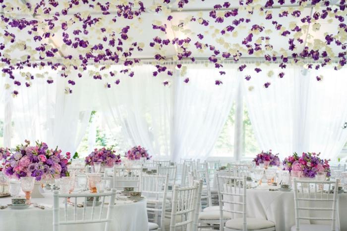Stilvolle hochzeitsdeko trends durch den sommer inspiriert for Hochzeitsdeko rosa