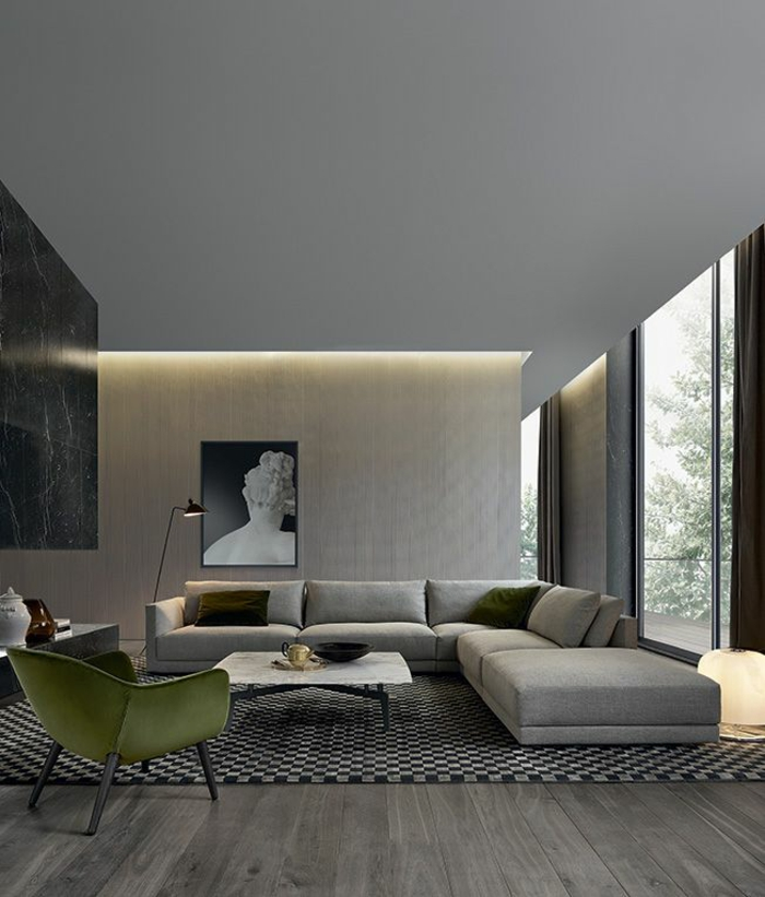indirekte beleuchtung zum erhellen dunkler r ume. Black Bedroom Furniture Sets. Home Design Ideas