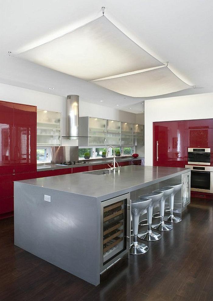indirekte beleuchtung led moderne kücheneinrichtung küchenideen