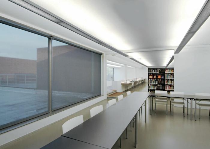 indirekte led beleuchtung moderne büroeinrichtung indirektes licht
