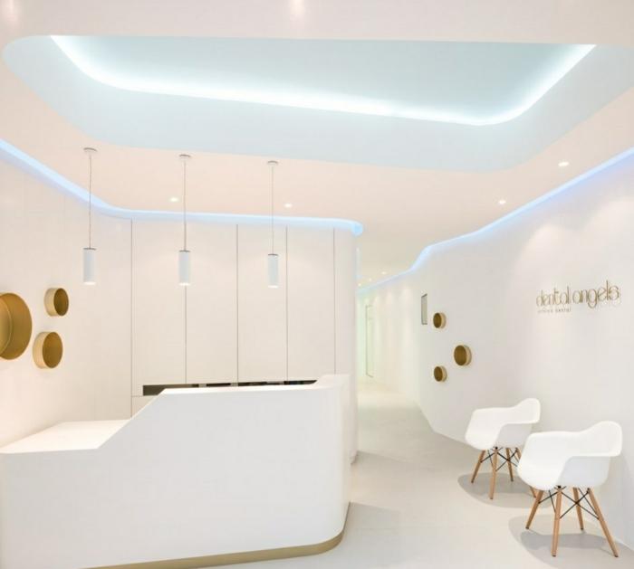 indirekte led beleuchtung moderne inneneinrichtung ideen weiß minimalistisch