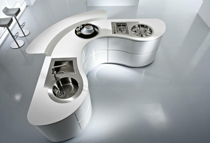 innovative materialien corian kücheneinrichtung komplett