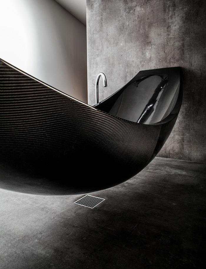 innovative materialien kohlenstofffasern badewanne