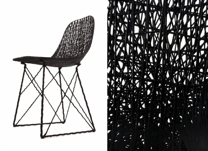 innovative materialien kunststofffasern schwarz