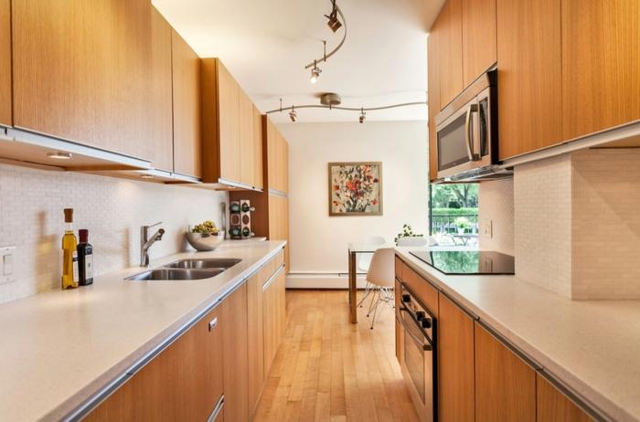 küche mit kochinsel küchengestaltung ideen küchenfronten holz