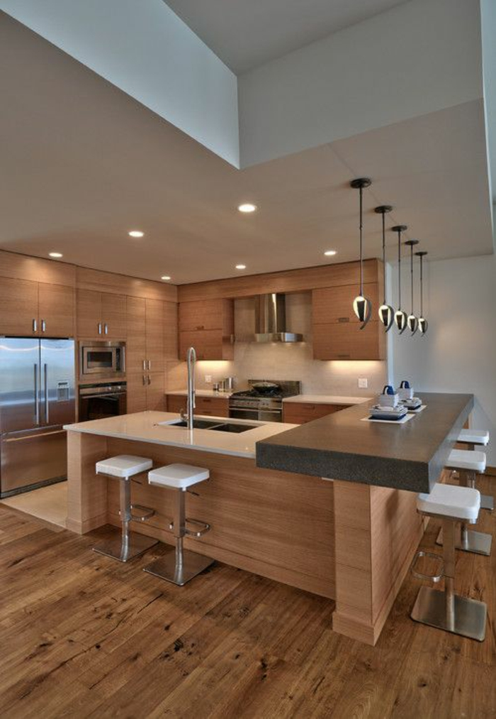 küchengestaltung ideen holzküche planen trends küchen aktuell
