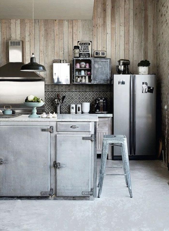 küchengestaltung ideen küche mit kochinsel industral style möbel
