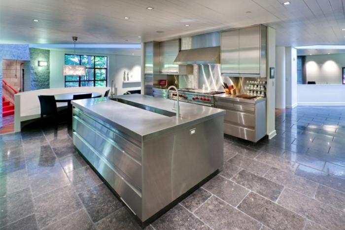 küchengestaltung kücheninsel industriestil trends küchen aktuell