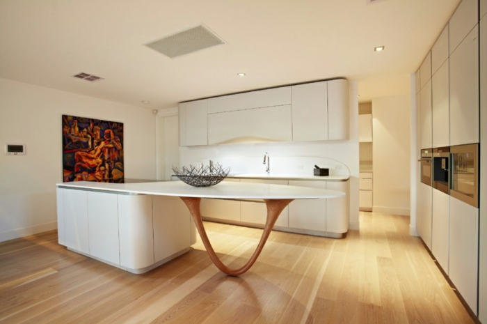 Moderne Küche Stilvoll Gestalten  Einfache Tipps Zur Auffrischung, Kuchen  Ideen
