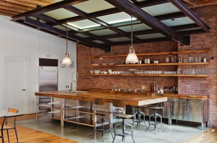 küchengestaltung rustikale küchen planen trends küchen aktuell