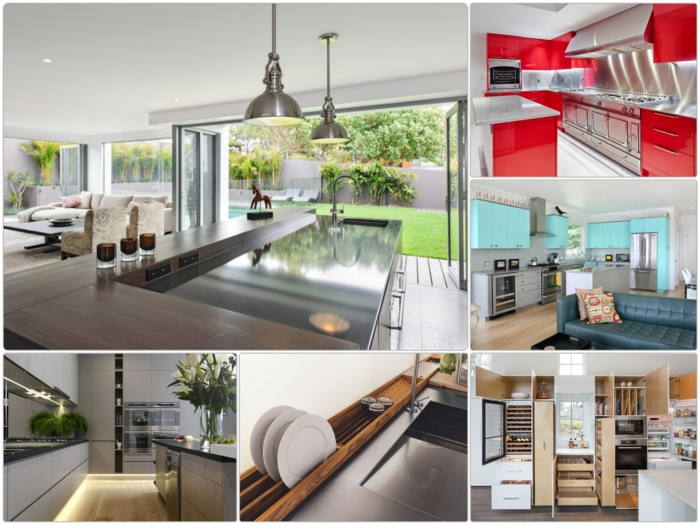 küchengestaltung ideen einbauküchen trends küchen aktuell küchen möbel