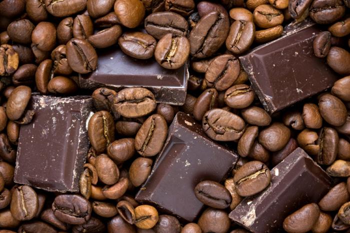 kaffee kalorien dunkle schokolade