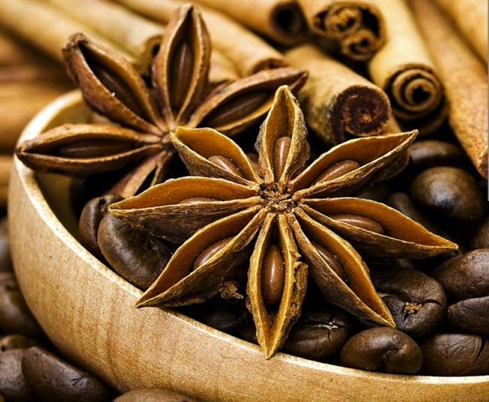 kaffee kalorien kaffeebohnen anis zimt