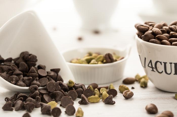 kaffee kalorien kardamom dunkle schokolade