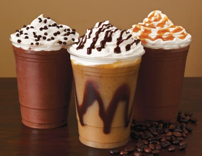 kaffee kalorien spezialitäten caramel schokolade