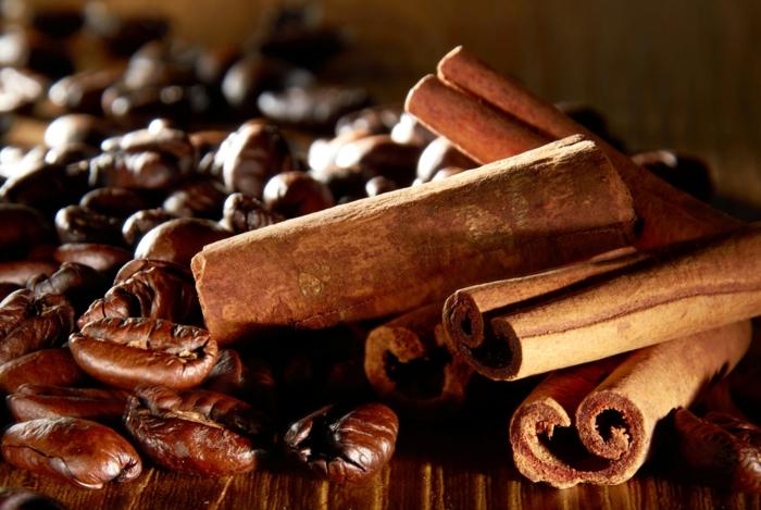 kaffee kalorien zimt gesund würzig