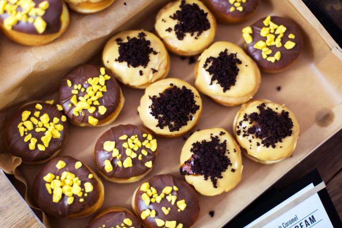 kaffee mode london coffee festival süßigkeiten donut
