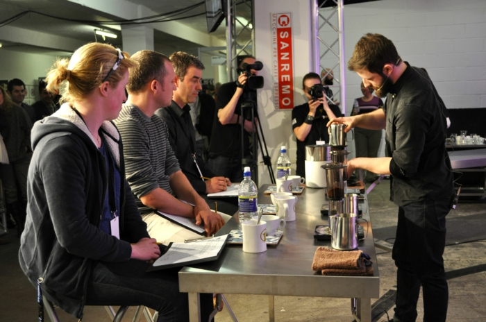 kaffee mode london festival barista workshops