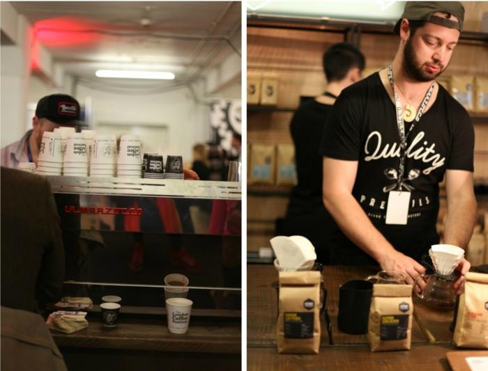 kaffee mode london festival event barista