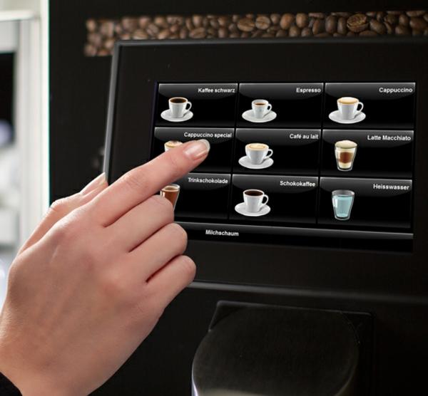 kaffeevollautomat kaffee partner bedienung genuss