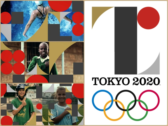 kenjiro sano logo austragungsorte olympische spiele 2020 japan tokio