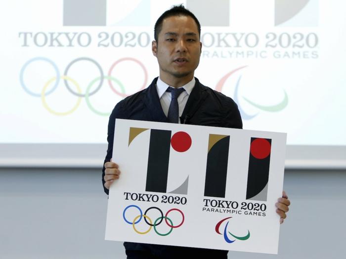 kenjiro sano logo olympische spiele 2020 japan tokio sommerspiele