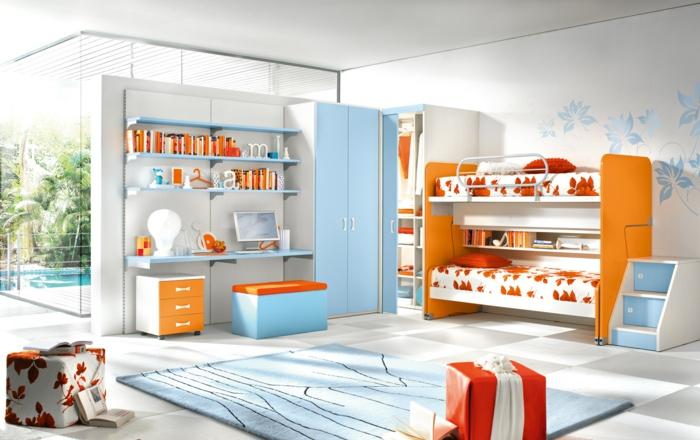 kindermöbel kinderzimmer einrichten jugendzimmer teppich
