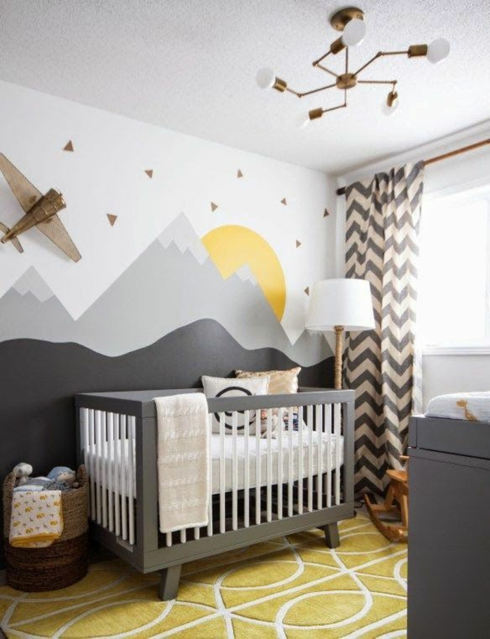 kinderzimmer wandfarbe babyzimmer gestalten babybett
