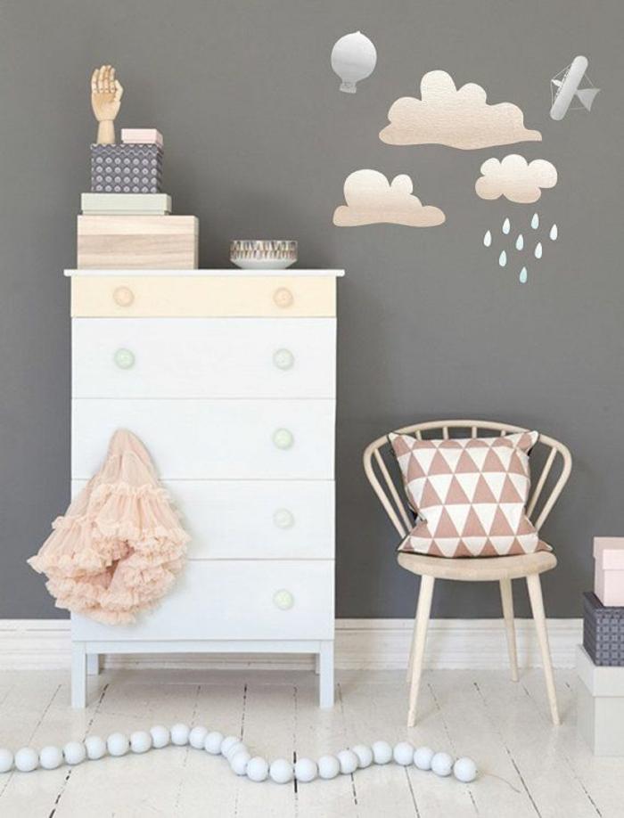 Babyzimmer Wandgestaltung Wandtattoos Waldtieren Im Kinderzimmer ...