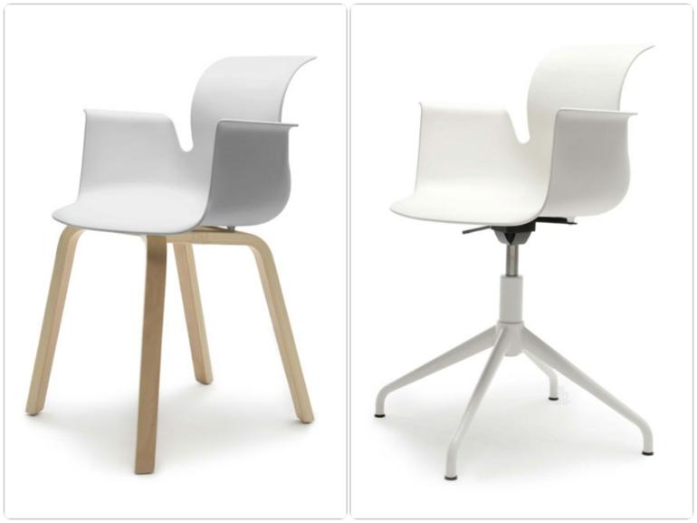 moderne st hle vom designer konstantin grcic f r fl totto. Black Bedroom Furniture Sets. Home Design Ideas