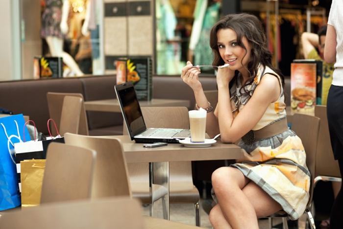 langeweile was tun kaffee trinken laptop arbeiten