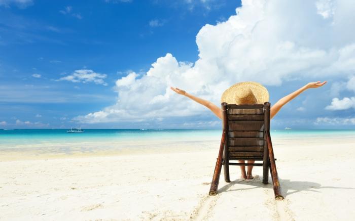 langeweile was tun urlaub strand entspannung