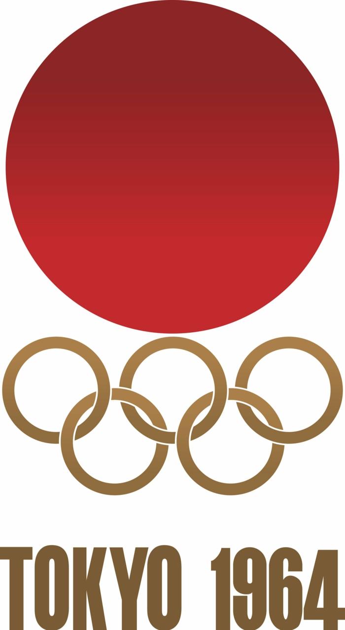 logo olympische spiele 1964 japan tokio sommerspiele 2020