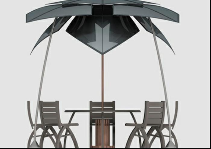 lounge sessel outdoor außenmöbel tisch stühle sonnenschutz